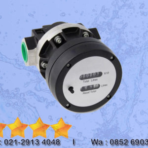 High Flow Oval Gear Meter