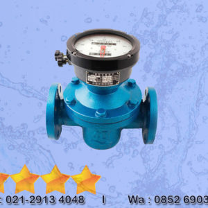 Flow Meter Oval Gear Type Digital