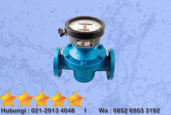 Flow Meter Oval Gear Type Digital