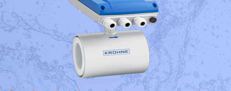 Flow meter Krohne OPTIFLUX 1050