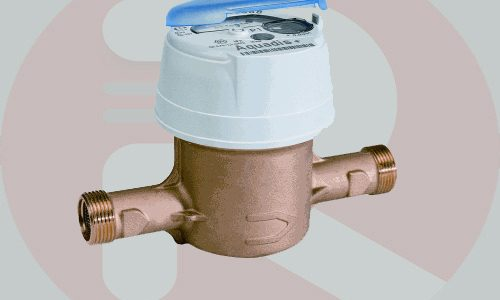 Water Meter Itron Aquadis 3/4 Inch DN 20 mm