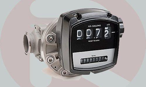 Flomec OM025 25 mm (1 inch) stainless steel flow meter