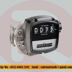 Flomec OM015 1/2 inch BSP(F) oval gear stainless