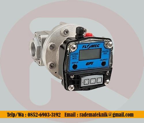 Flow Meter Flomec OM100 4 inch oval