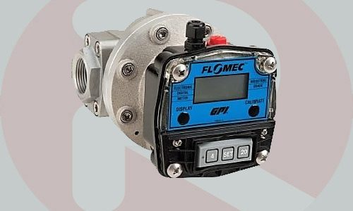 Flow Meter Flomec OM080 3 inch oval