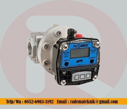 Flow Meter Flomec OM015 1,2 inch oval gear digital