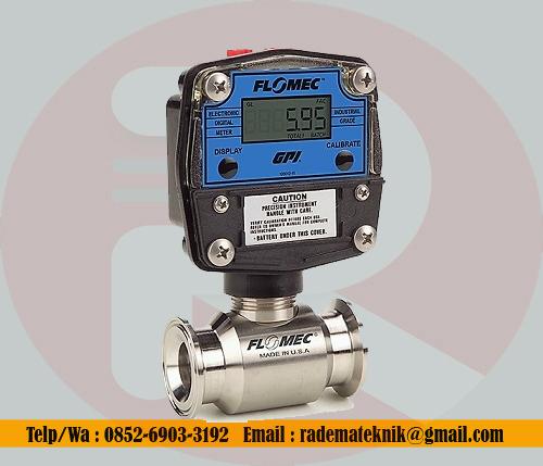 GPI-Flomec-GSCP-50-mm-2-inch-Tri-Clover-high-accuracy